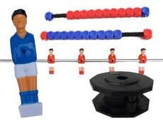 Table soccer parts