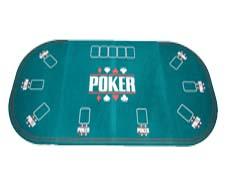 Póker asztallap, terítő