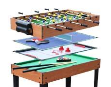 Többfunkciós játékasztalok