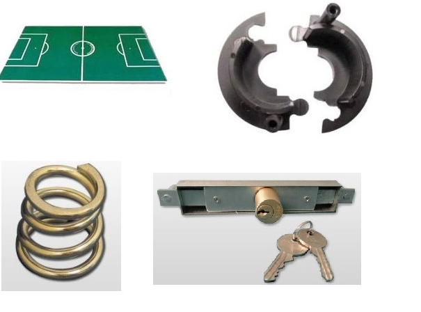 Garlando soccer table and spare parts
