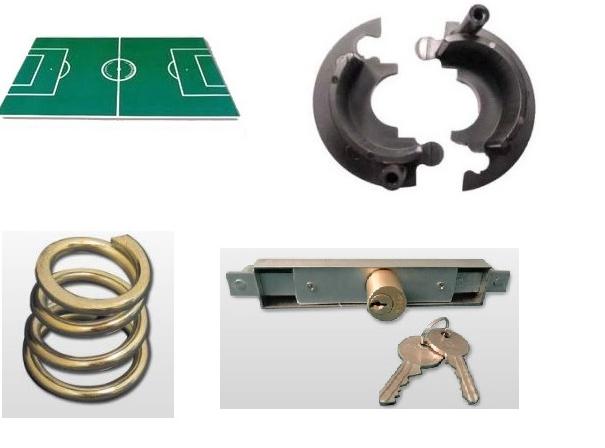 Garlando stoni fudbal i delovi